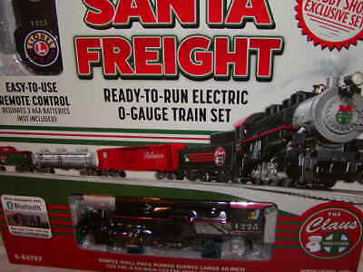 Lionel 6-84787 Christmas Santa Claus Freight Train Set O-27 LC New MIB 2018 BT