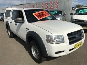 2008 Ford Ranger PJ 07 Upgrade XL (4x2) White 5 Speed Automatic Dual Cab Pick-up Lansvale Liverpool Area Preview