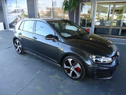 2014 Volkswagen Golf AU MY14 GTI Black 6 Speed Manual Hatchback Hamilton Newcastle Area Preview
