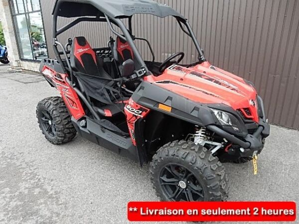 2015 Arctic Cat Z-FORCE 800 53""