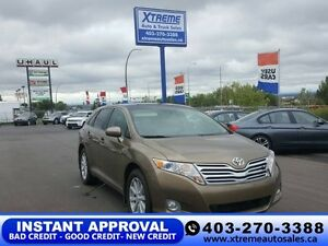 2010 Toyota Venza AWD $139 bi-weekly APPLY NOW DRIVE NOW