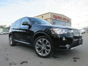 2017 BMW X3 xDrive28i, NAV, ROOF, LEATHER, 25K!
