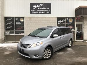 2011 TOYOTA SIENNA XLE *LEATHER*BACK-UP CAMERA*NO ACCIDENTS*