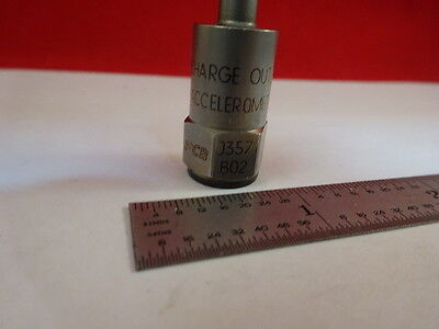 Pcb Piezotronics Charge Mode J357b02 Vibe Accelerometer Sensor As Is 37-a-03