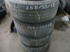 255/55R18 BRIDGESTONE DUELLER RUN FLAT TIRES