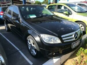 2011 Mercedes-Benz C200 W204 MY10 CGI Black 5 Speed Auto Tipshift Sedan St James Victoria Park Area Preview