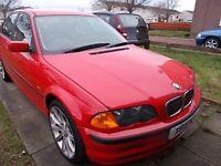 BMW 318 I SE SALOON X REG,, NICE CLEAN CAR ,, ONLY 75,000 MILES,, MOT JULY 23RD 2017