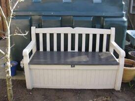 Kettler Garden Bench with seated locker