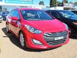 2013 Hyundai i30 Red Sports Automatic Minchinbury Blacktown Area Preview