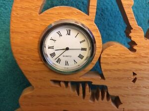 FISHERMAN CLOCK, BOY FISHING CLOCK Windsor Region Ontario image 2