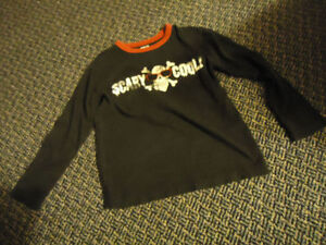 Boys Size 7/8 Long Sleeve Scary Cool *Children's Place** T-Shirt