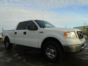 2008 Ford F-150 SuperCrew SXT 4X4-4.6L V8-ONE OWNER TRUCK-CLEAN
