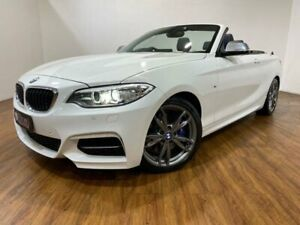 2015 BMW M235i F23 White 8 Speed Automatic Convertible Kingsgrove Canterbury Area Preview