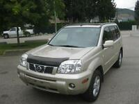 2006 Nissan Xtrail 4x4 2 sets of tires local one owner!