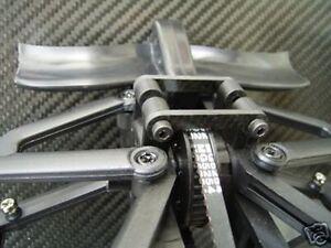 HD Carbon Tuning Dämpfer Brücken DeAgostini F2004 NEU
