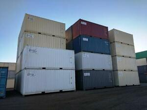 20 New Shipping Containers - The Container Guy