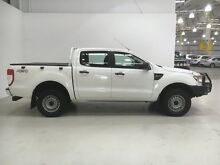 2012 Ford Ranger PX XL Double Cab White 6 Speed Manual Utility Edgewater Joondalup Area Preview