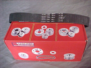 SMALL BLOCK CHEV GILMER BELT DRIVE PULLEY KIT SET LWP      Watch London Ontario image 2