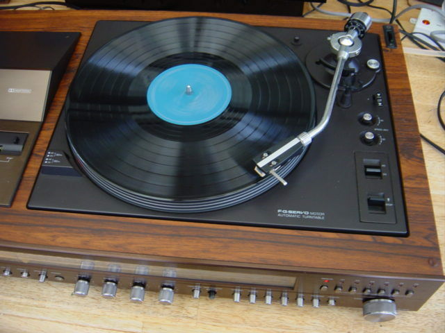 National Panasonic Sg 5070 Music Centre Fm Lw Mw Sw And 6