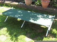 Hi-gear folding camp bed
