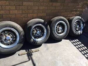 "ford xa xb xc ROH 14"" twelve slot wheels Mulgrave Monash Area Preview"