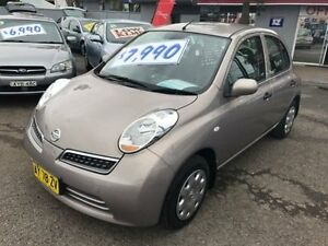 2008 Nissan Micra K12 Champagne 4 Speed Automatic Hatchback Lansvale Liverpool Area Preview