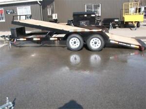 """Tilt Plate-forme 78.5"""" x 20' 2 essieux 5200lb. tracteur machiner"""