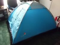 Global Trek Monodome 2 person tent (not been used outside)