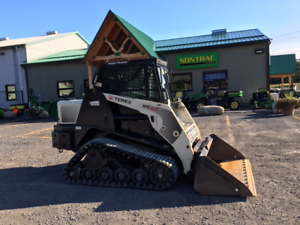 2009 TEREX PT-60 - TRACK SKIDSTEER - CLOSED CAB - LOW HOURS