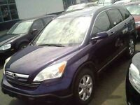 2007 Honda CR-V EX-L 4dr 4x4 with Leather and Moonroof !