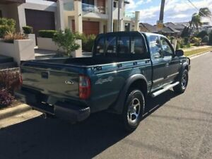 2004 Ford Courier PG XL (4x4) Green 5 Speed Manual Super Cab Pickup Lidcombe Auburn Area Preview