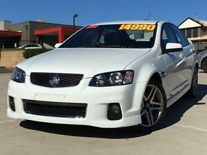 2012 Holden Commodore VE II MY12.5 SV6 White 6 Speed Sports Automatic Sedan Kings Park Blacktown Area Preview