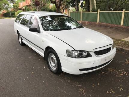 2005 FORD FALON WAGON FACTORY LPG GAS CHEAP BACKPACKER RELIABLE