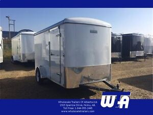 Excellent value on a lightly used 6x12' Enclosed Cargo Trailer!