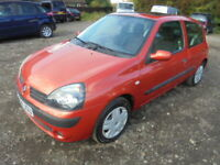 Renault Clio 1.2 16V EXTREME 3. FULL SERVICE HISTORY, LOW INSURANCE. (orange) 2004