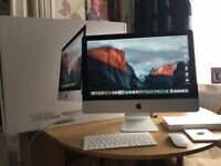 iMac 21.5-inch under 1 year old. 1.6GHz dual-core Intel Core i5, Turbo Boost up to 2.7GHz