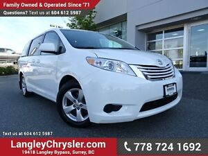 2016 Toyota Sienna LE 8 Passenger W/ 8-PASSENGERS, REAR-VIEW...