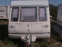 2 berth touring caravan with MOTOR MOVER