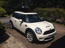 2007 Mini Cooper S BMW - pepper white