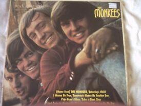 Vinyl LP 1960's Monkees LP The Monkees RCA Vicort RD 7844 Mono 1967