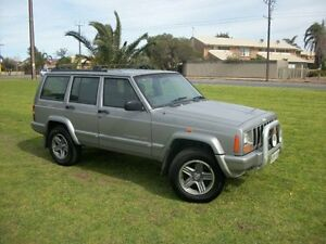 2001 Jeep Cherokee XJ Classic (4x4) 4 Speed Automatic 4x4 Wagon Alberton Port Adelaide Area Preview