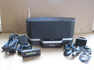 Sirius XM radio receiver and portable speaker dock