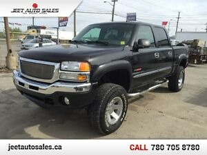 2006 GMC Sierra 1500 SLT 4x4 Crew Cab V-MAX Lifted Loaded !! Edmonton Edmonton Area image 1