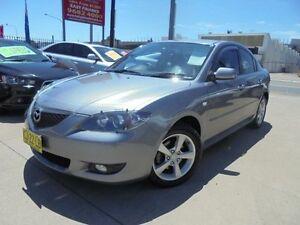 2004 Mazda 3 BK10F1 Maxx Grey 5 Speed Manual Sedan Holroyd Parramatta Area Preview
