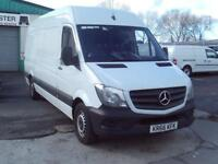 Mercedes-Benz Sprinter 314cdi lwb High Roof 140ps New Shape DIESEL MANUAL (2016)