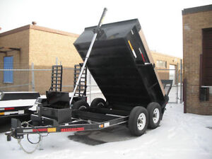 Dump Trailer From J & J 6x10 & 6.6' x 12' - BIG SALE