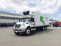 2015 International 4400 6x4, Used Reefer Van