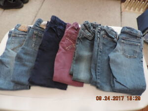 Size 6 Girl's Adjustable Jeans & Cords