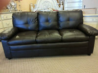 LEATHER SOFA FACTORY DIRECT SAVINGS ALL BRAND NEW IN STOCK