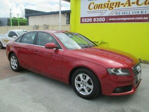 2010 Audi A4 B8 8K MY10 Multitronic Red 8 Speed Constant